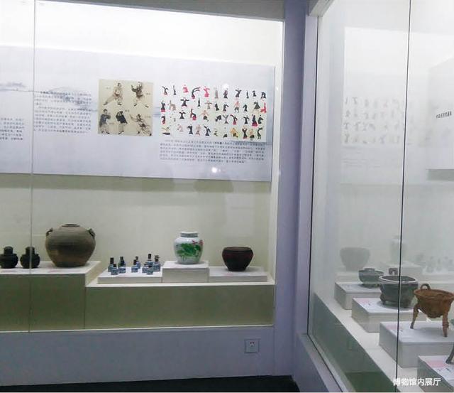 博物馆内展厅