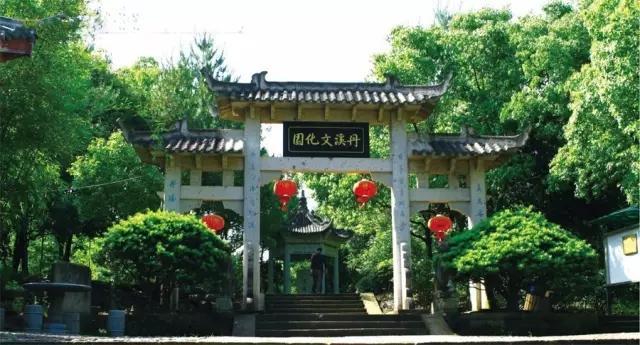 幽静的丹溪文化园,是如今中医追本溯源的好去处
