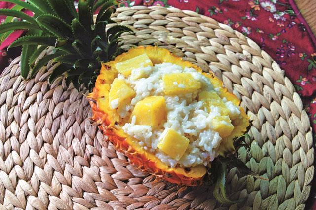 椰浆菠萝饭
