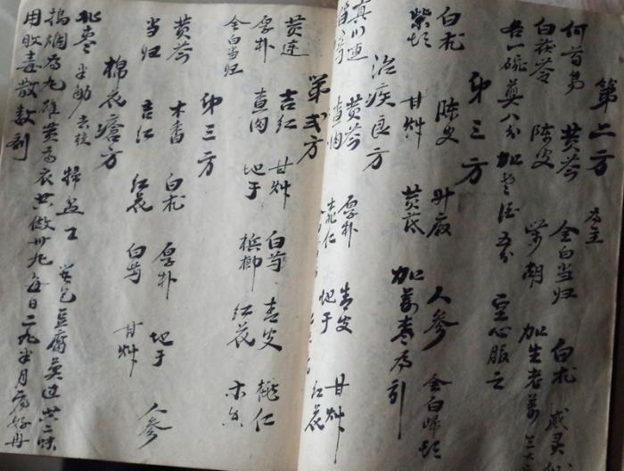 """""""问松堂""""手抄处方"""