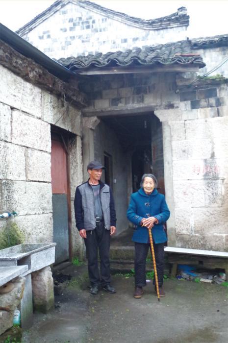 李唐菊和小儿子