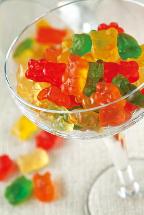 栀子黄色素也可调制水果糖
