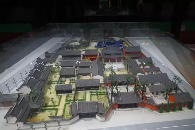 南宗孔庙全景模型
