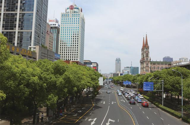 宁波药行街全景