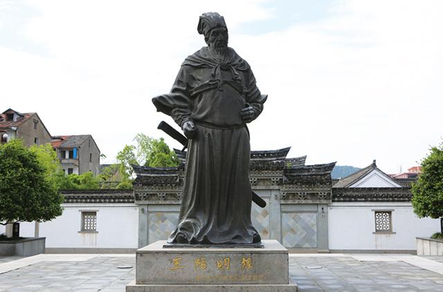 王阳明雕像