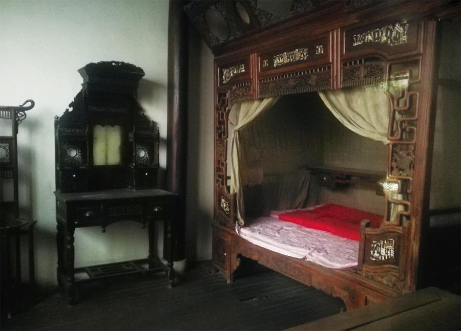 金庸诞生的房间