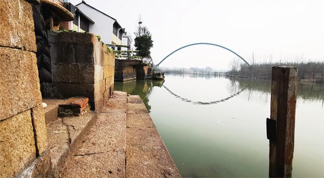 潘氏故居前的私家码头